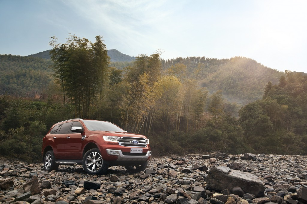 New Ford Everest-Riverbed