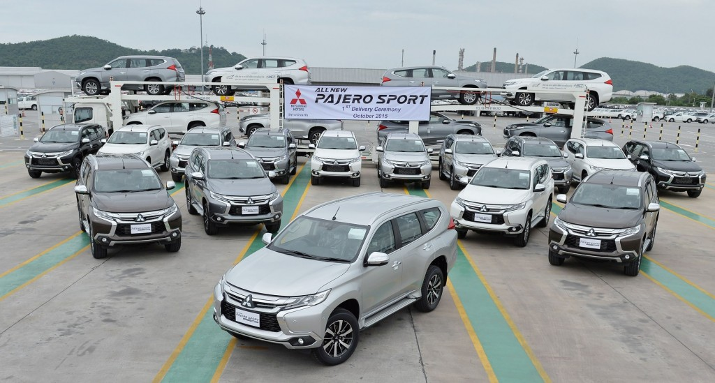 All New Pajero Sport Delivery Ceremony