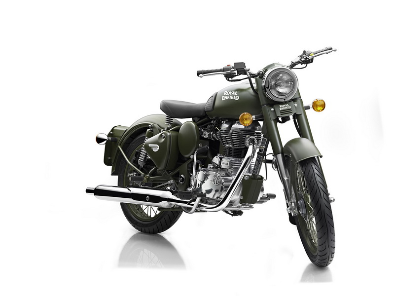 Royal Enfield US models 2012