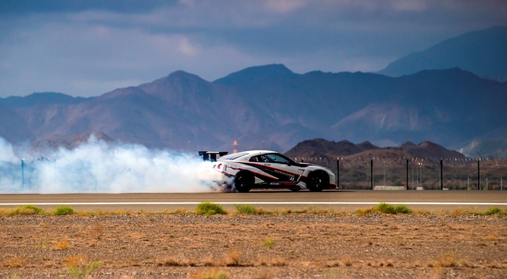 GT-R breaks word record of drifting_04