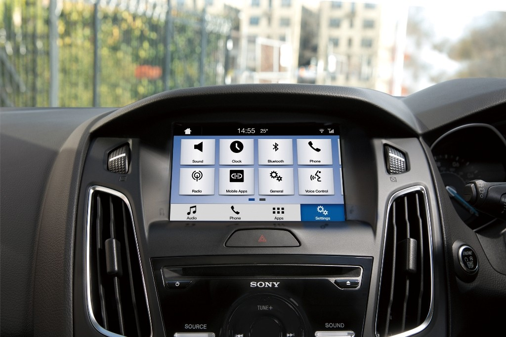New Ford Focus SYNC 3