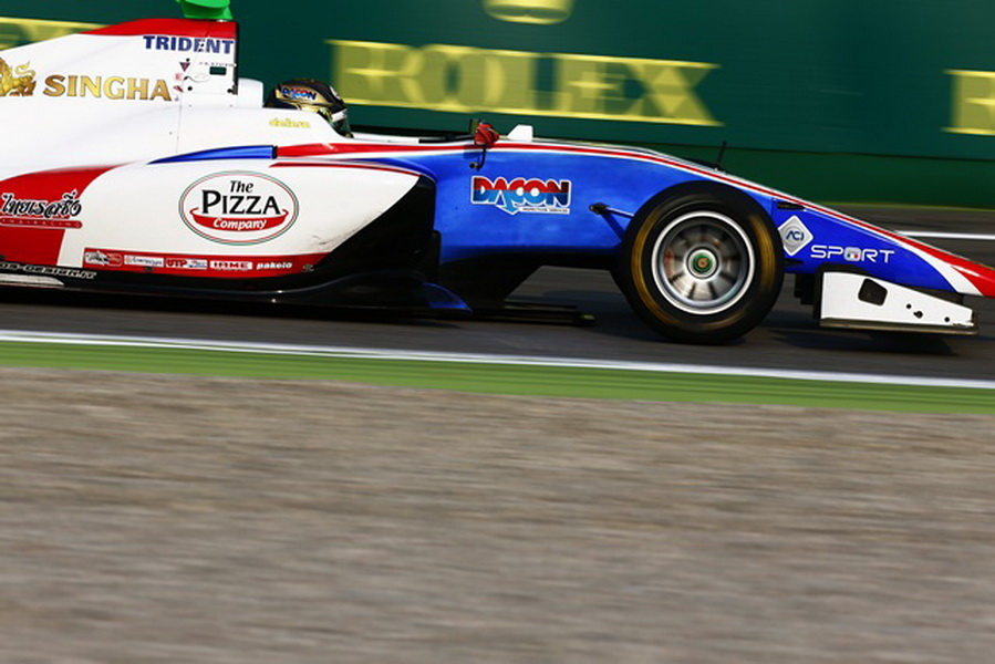 2016 GP3 Series Round 7. Autodromo Nazionale di Monza, Monza, Italy. Friday 2 September 2016. Sandy Stuvik (THA, Trident) Photo: Zak Mauger/GP3 Series Media Service. ref: Digital Image _L0U3685