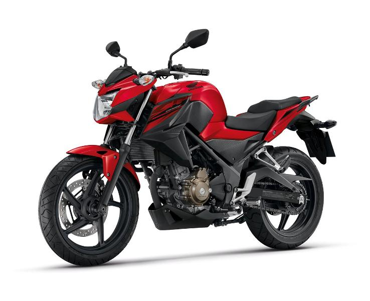 CB300F Red-Black (Large)