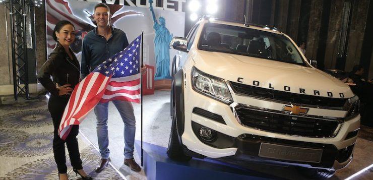 เชฟโรเลต  พร้อมเผยโฉมรถกระบะรุ่นใหม่ ในวันชาติสหรัฐอเมริกา