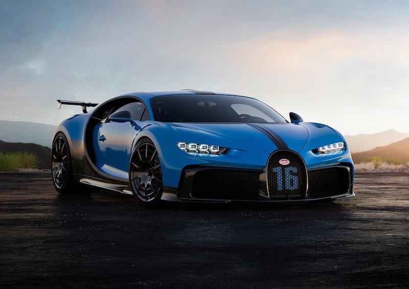 Bugatti Chiron Pur Sport ที่สุดแห่งยนตรกรรมสมรรถนะสูงรุ่นพิเศษ