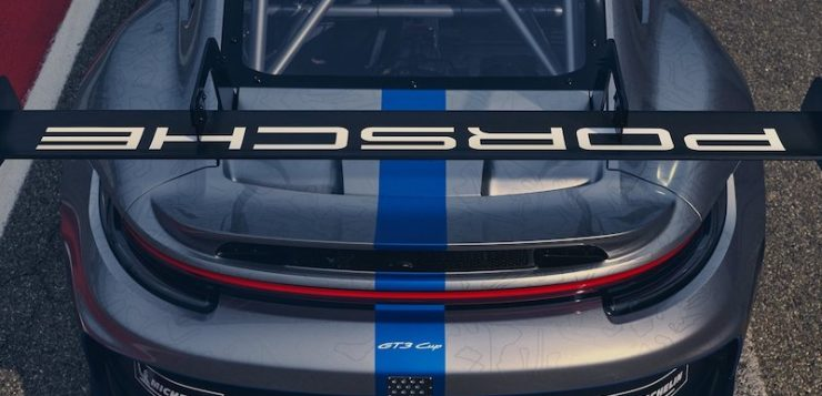 Porsche 911 GT3 Cup รถแข่งเต็มระบบ
