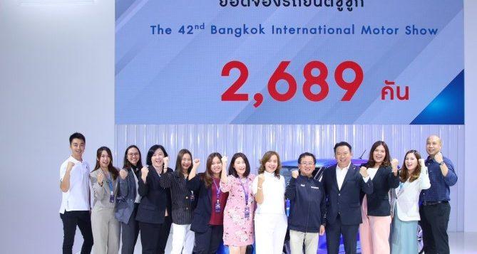 ซูซูกิสุดฮอต !! กวาดยอดจองทะลุเป้า 2,689 คัน ในงานมอเตอร์โชว์