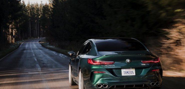 """Alpina BMW B8 Gran Coupe ถึงเวลาเสริ์ฟของใหม่อีกครั้ง """"ดุดัน"""" ด้วยตัวเลขระดับ 612 แรงม้า"""