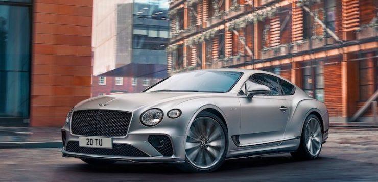 Bentley Continental GT Speed ตอกย้ำความเป็นที่สุด