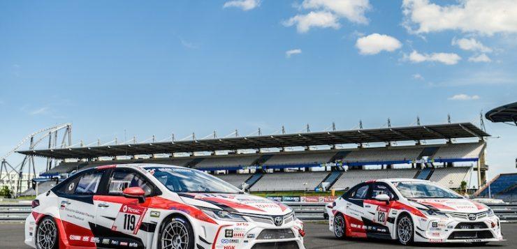 Toyota Corolla Altis GR Sport  รักษาแชมป์สองปีซ้อน ADAC Total 24h-Race Nürburgring